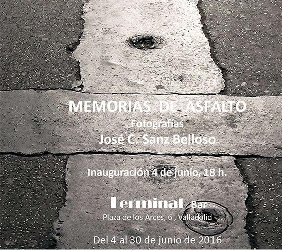 Memorias Asfalto Exposición Fotografia Terminal (Valladolid)