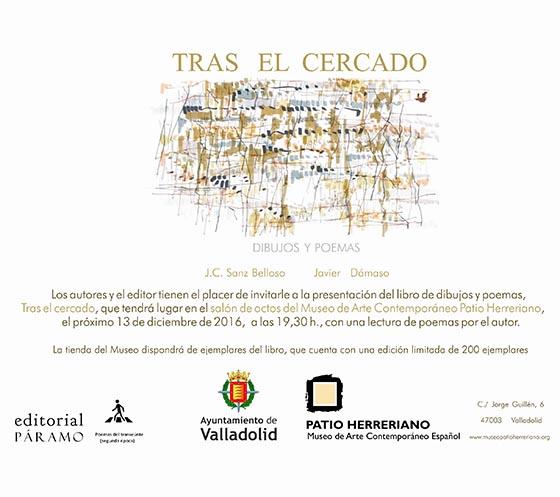 Invitación libro Tras el cercado MuseoPH_Port